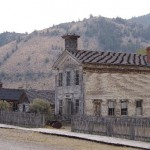 Bannack - schoolhouse