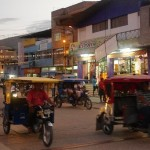 Mototaxis in Peru - here Jaen