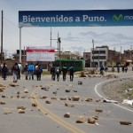 Demonstration in Puno