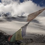 Huayna Potosi - from the basecamp