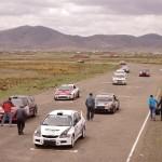 Car racing on the Altiplano